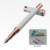 Luxury silver metal fountain pen with dragon clip