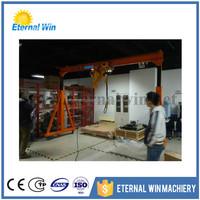 Warehouse Lifting Moving Small Gantry Mini Mobile Crane