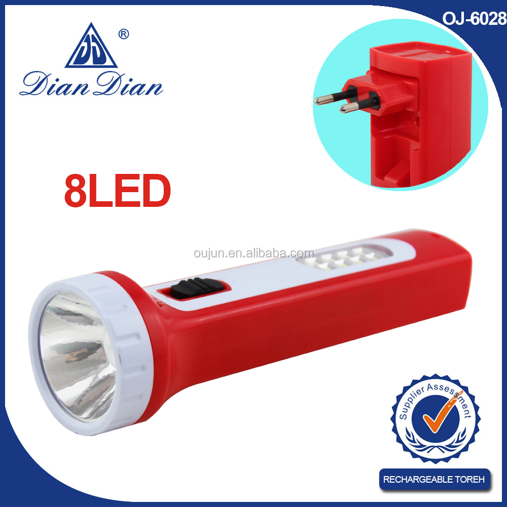 2015 top sales geepas rechargeable led flashlight made in China