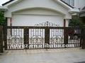Hot sales Wrought iron main gate designs