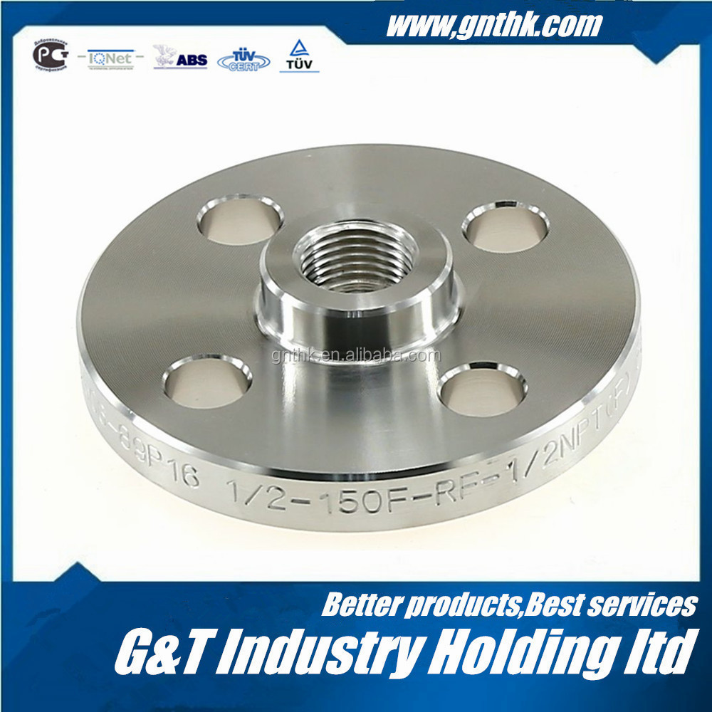 NF E29-203 1/24 Stainless steel flange threaded pipe flanges