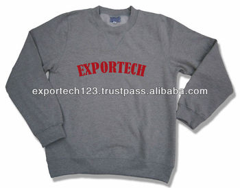 Sweat shirt pullover fleece 100% cotton