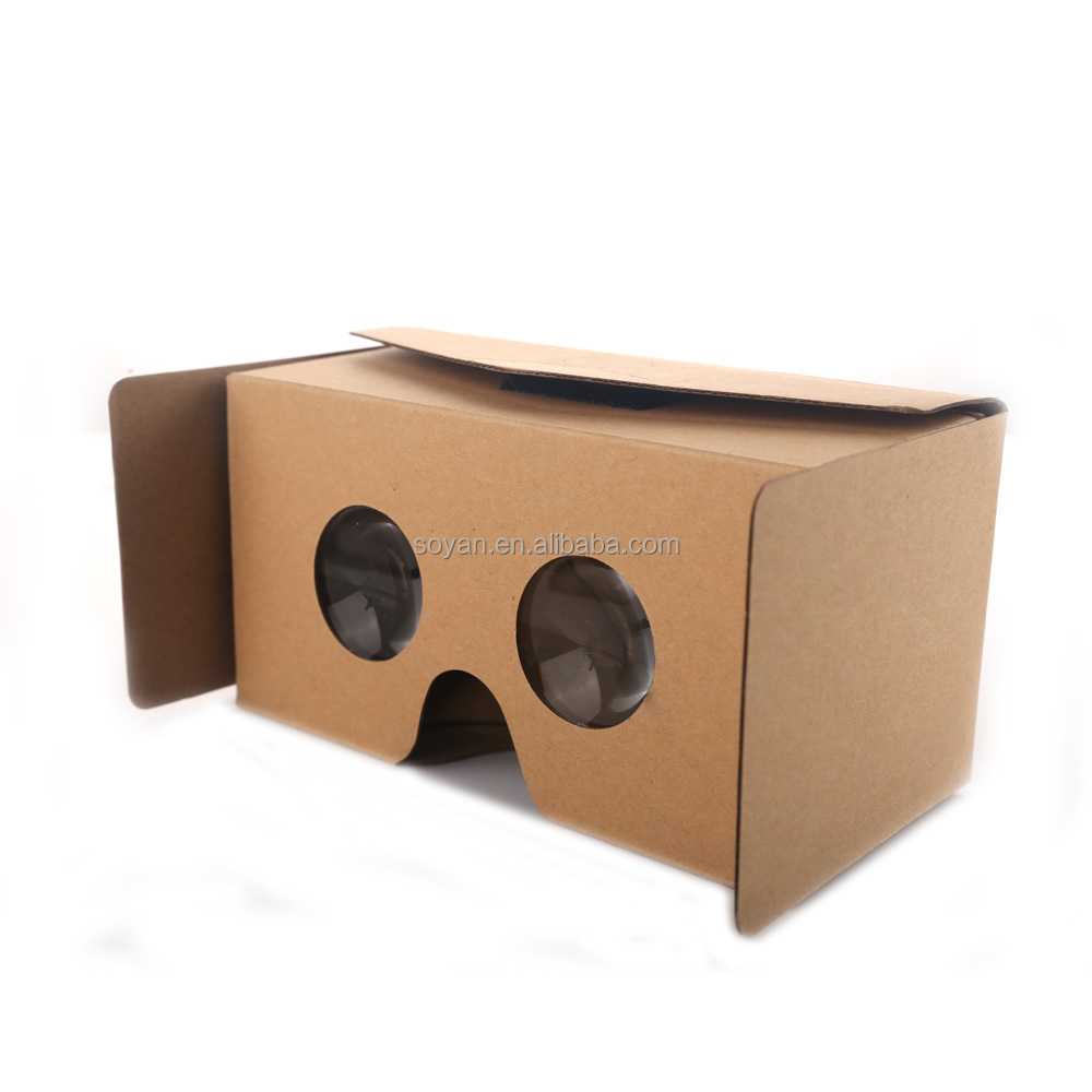 2017 The latest version Simple and easy to assemble 3D glasses vr cardboard Can be customized design
