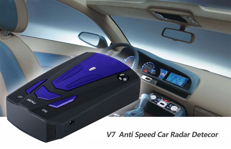 factory direct price early warning V7 anti police speed gun car radar detector