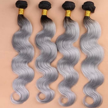 2015 New Style Sex Vagina with Grey Hair Lightning Delivery Hair Bundles