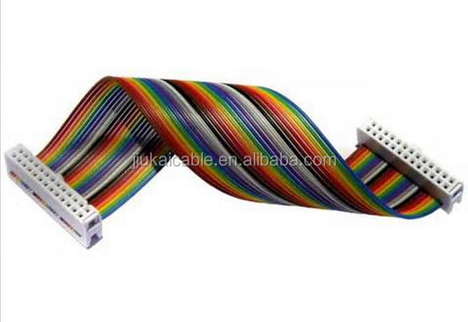 Ribbon cable with many conducting wires running parallel ul2651 28awg flat ribbon cable