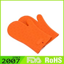 Bargain Sale Fda Certified Customized Logo Environmental Protection Non-Toxic Heat Resistant Silicone Oven & Grill Gloves