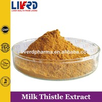 Herbal Medicinal Silymarin of Milk Thistle Extract