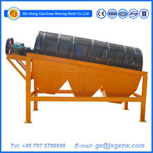 Mineral separator trommel screen for sand, Alluvial gold, Placer gold,coal