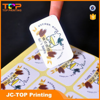 Professional label printing with your own logo
