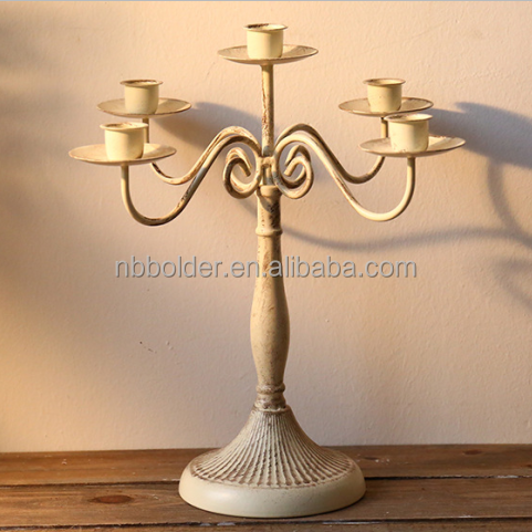 Wholesale tall wedding pilalr candle holder candleabra centerpieces for decoration wedding
