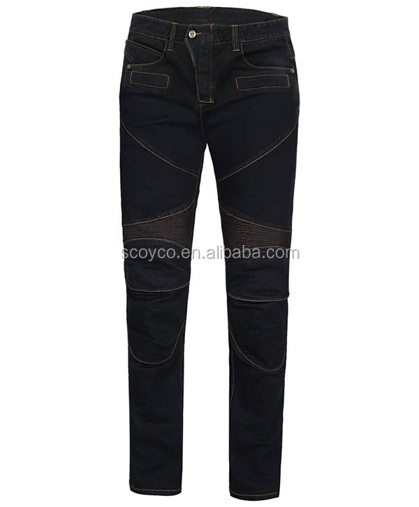 Motorcycle Casual Pant P043 Denim Vintage Design