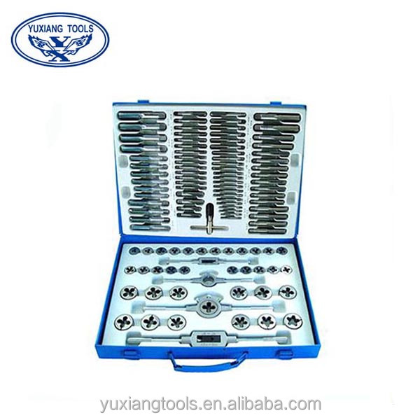 110pcs set taps and dies threaded tools at reasonable price