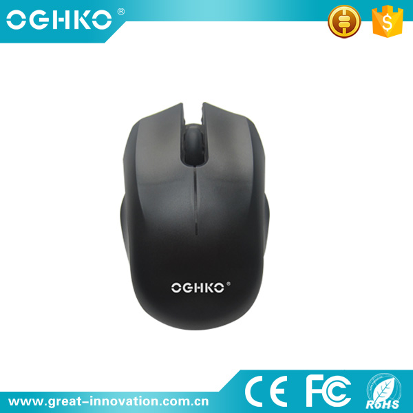 New nice design 2.4G wireless computer optical mouse