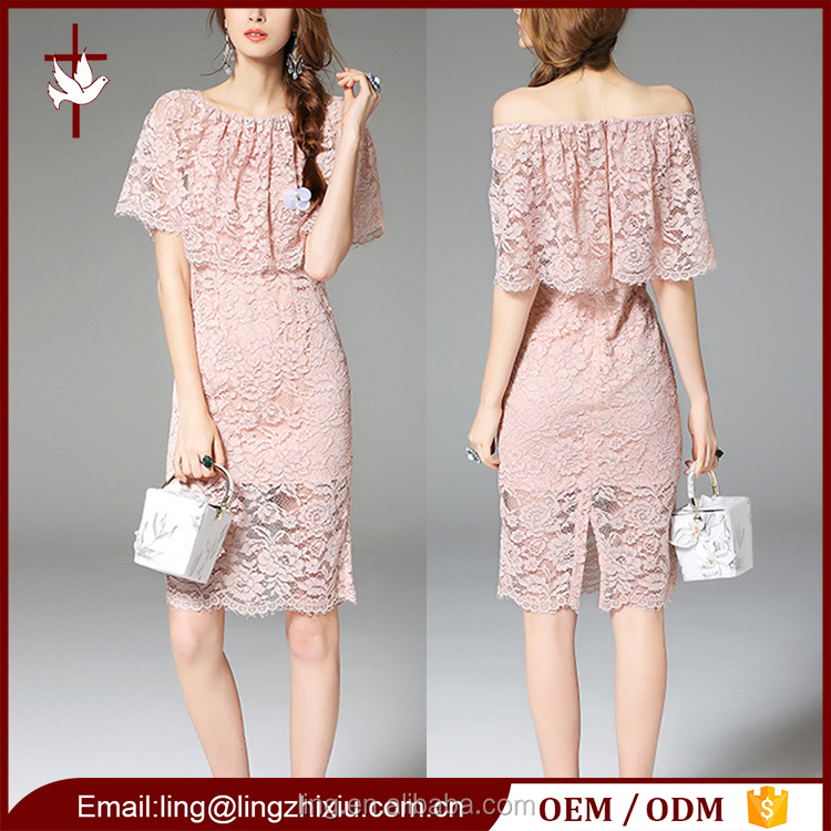 Beautiful lady fashion dress wholesale custom clothing china manufacturers
