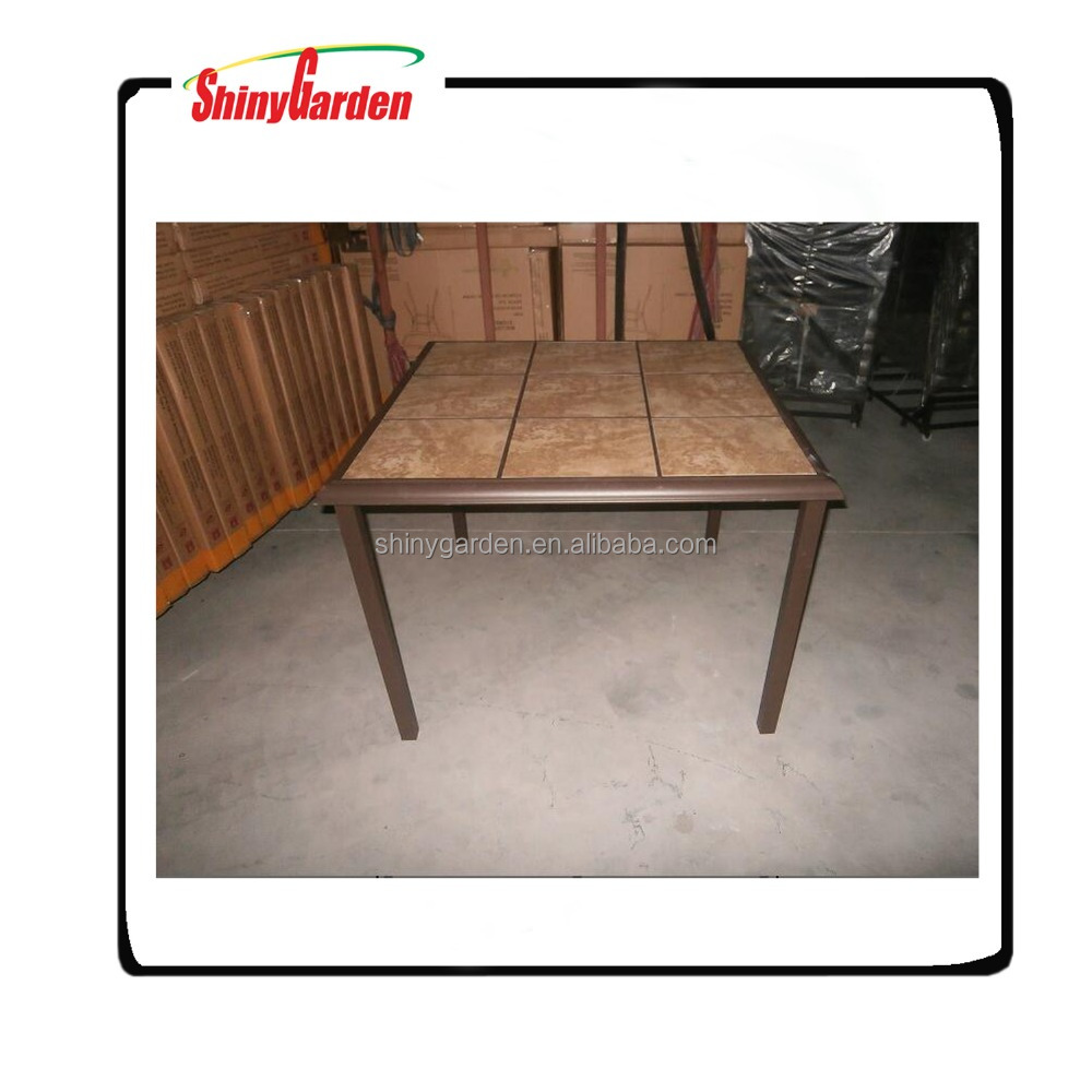 ceramic tile furniture,ceramic tile top dining table,ceramic tile patio furniture