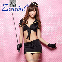 Woman Sex Hot Police Costume Dance Party Policewoman Uniforms Performance Clothing Stage Costumes