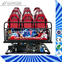 Best quality 3d 4d 5d 6d 7d cinema equipment for amusement park Longze brand