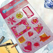 3D Crystal Puffy Stickers For Decoration