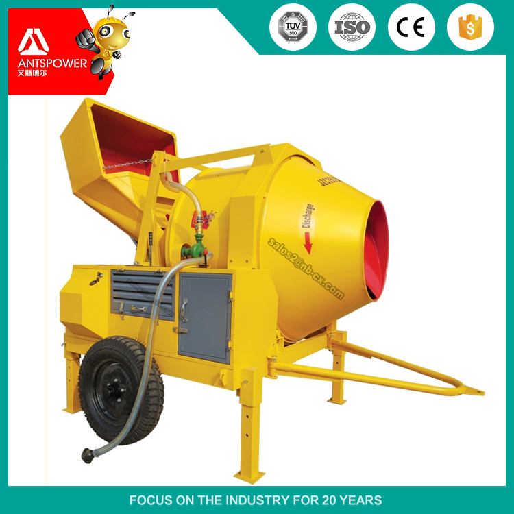 JZC350-DH Top Quality Hydraulic and Diesel Concrete Mixer