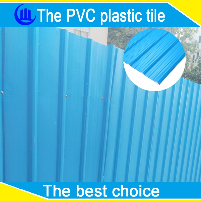 Pvc corrugated tiles plastic rubber roof sheets