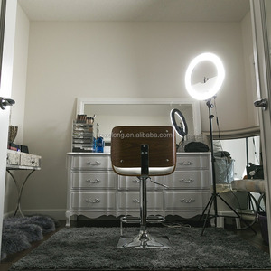 240leds 18 inch Dimmable Ring Light 50W(400W equivalent ) Continous Camera Photo Video Light Recording Youtube Video Ring Light