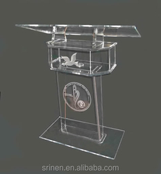 Factory Directly Transparent Acrylic Lectern Wholesale