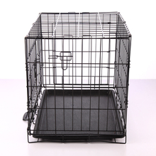 High quality cheap custom made dog cage with wheels