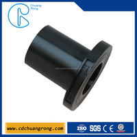 hdpe butt weld stub flange pipe fitting