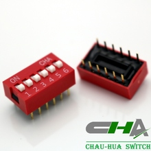 Blue Red dip switch 1~12 Position DIP SWITCH( DS DP DL)