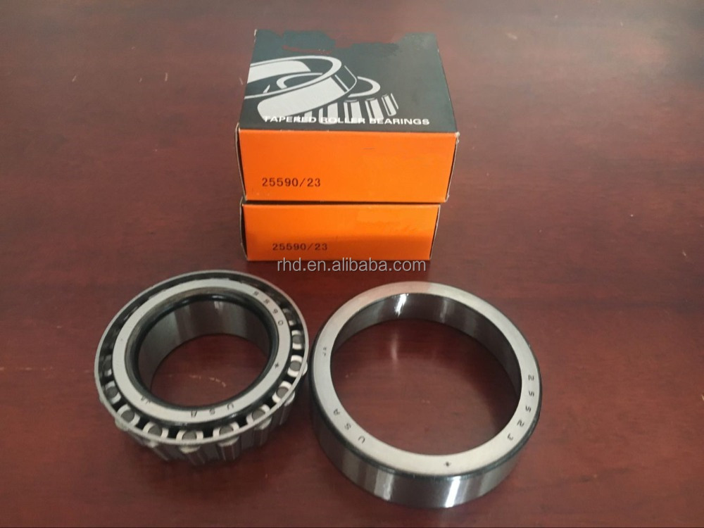 brand inch tapered roller bearings 25590/23 with single row