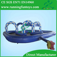 Inflatable race track car race track, kids toy cars race track