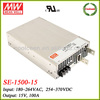 Meanwell SE-1500-15 high power supply 15v 100a