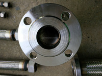 SS metal hose flange coupling fitting