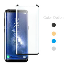 Full Glue Full Cover 9H Tempered Glass Touch Sensitive Screen Protector For Samsung S8 S8+ S9 Note 8 Full Glue Screen Protector