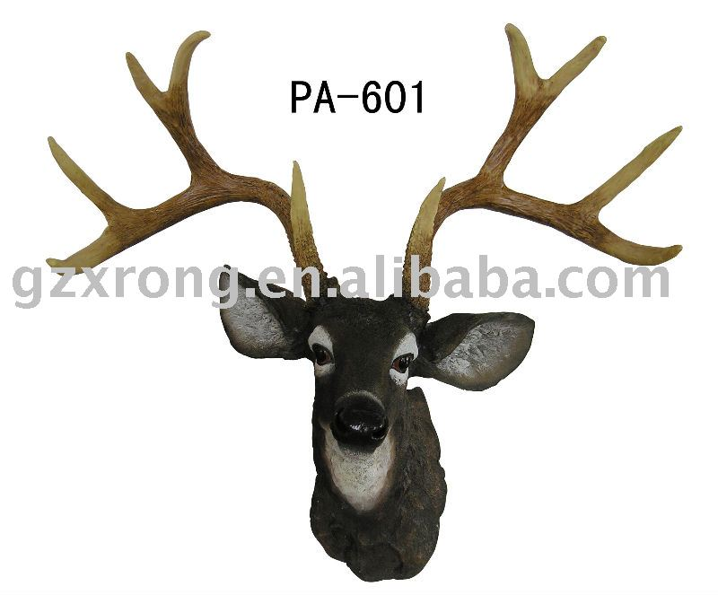resin home decoration deer head
