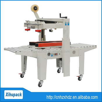 Semi-Auto Side Drive Sealing machine for paper carton