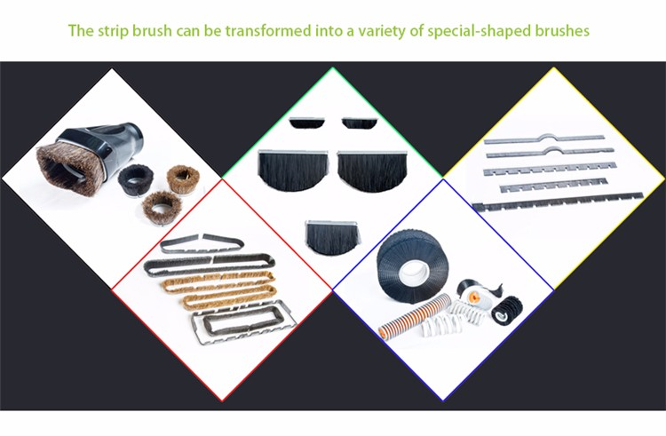 Hot Sale Anti Static Seal Strip Brushes