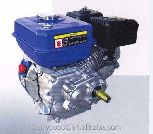 5.5 hp single cylinder gasoline engine of 1/2reducrion drivewith double chain ,petrol engine