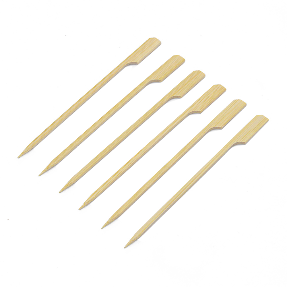 good skewer grill food grade bamboo teppo skewer