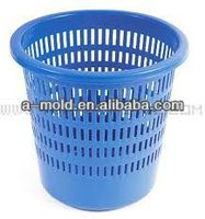 plastic dustbin basket mold , plastic bucket mould / tooling