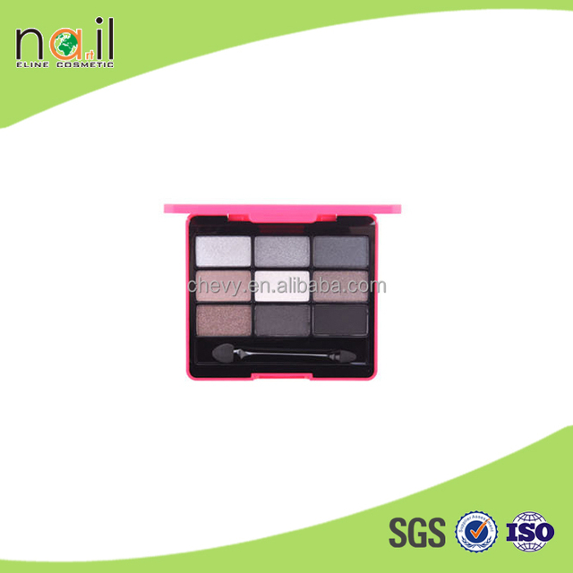 QSF455 2015 the whole summer high quality yet cheap price 9x7.8x1.2cm 8 styles 9 colours eye shadow