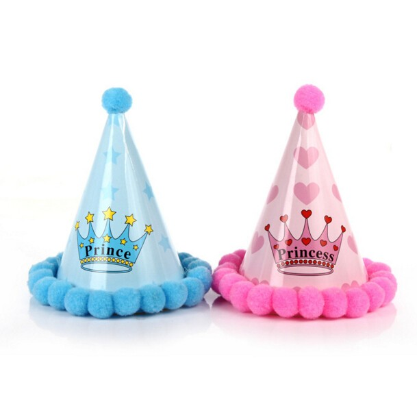 Hot And Popular Assorted Birthday Party Hat For Paty Decoration Paper Hat