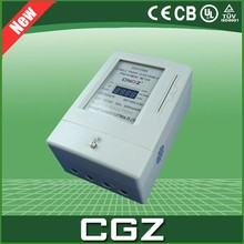 LCD high precision prepaid electric energy meter price more than 15 years Service life