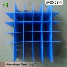 Moisture Resistance PP Hollow Plastic Partition Sheet For Windows And False Ceilings Board
