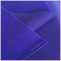 100 polyester composition tricot loop velvet fabric