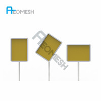 AEOMESH Customized Size A3 & A4 Stanchion Sign Holder Stand