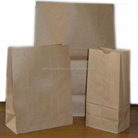Gusset Flat Base Kraft Paper Bread