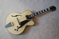 yunzhi fully handmade with solid wood carved maple archtop guitar