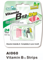 mint strips vitamin B12 breath strawberry slice for vegetarian
